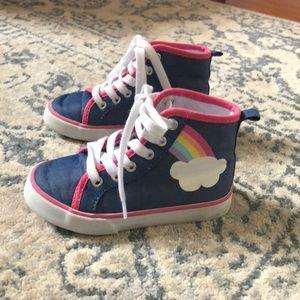 Kids hi top sneakers